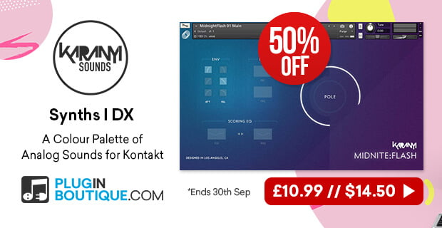 Get 50% off Synths I DX virtual analog and PCM synth