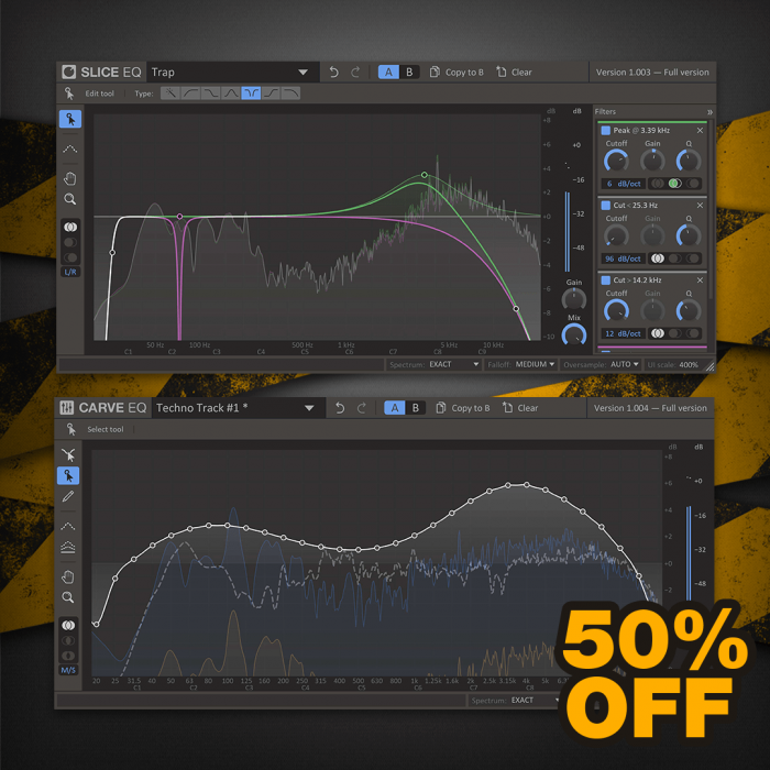 Kilohearts kHs Equalizers 50 OFF