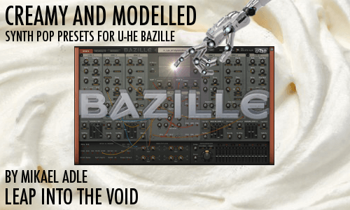 Leap Into The Void Creamy and Modeled for u he Bazille