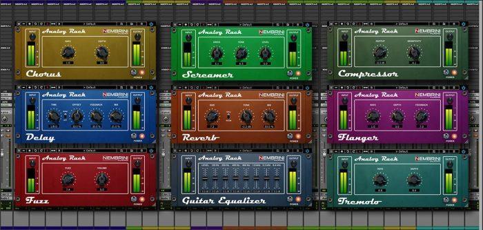 Nembrini Audio Analog Rack Bundle