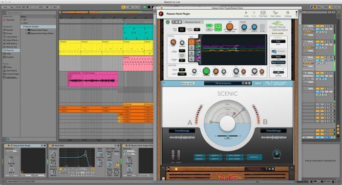 Reason Studios Reason 11 screen