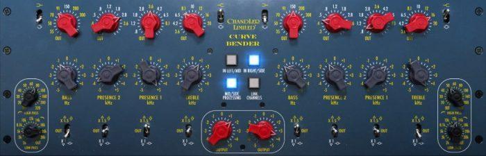 Softube Chandler Limited Curve Bender Mastering EQ plugin