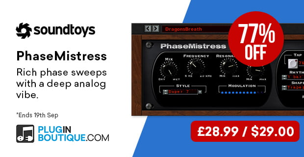 Soundtoys PhaseMistress 29 USD