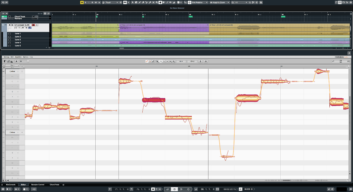 Perfect vocal comping with extended ARA support in Cubase