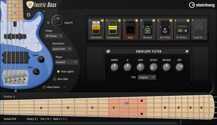 Steinberg Electric Bass