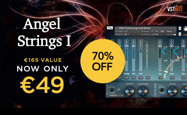 Get 70% off Angel Strings forward-thinking string library by