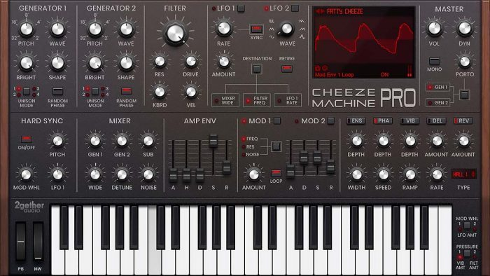 2getheraudio Cheeze Machine Pro