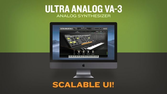 AAS Ultra Analog VA 3 scalable GUI