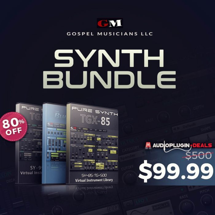 Audio Plugin Deals Gospelmusicians Synth Bundle