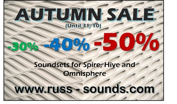 Autumn Sale Russ Sounds