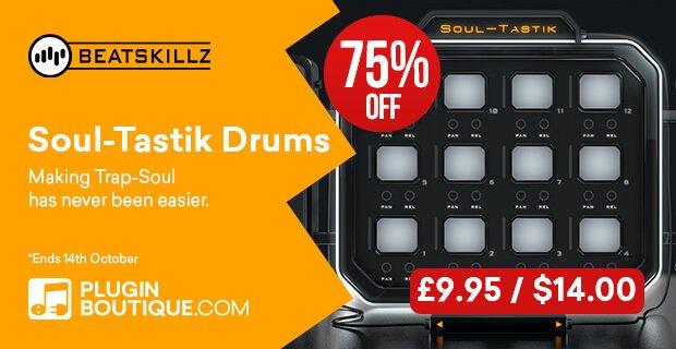 Beatskillz Soultastik Drums 75% OFF