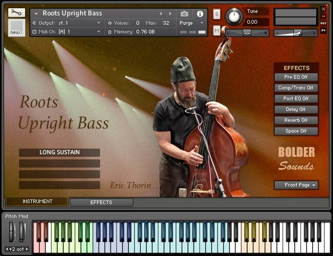 Bolder Sounds Roots Upright Bass