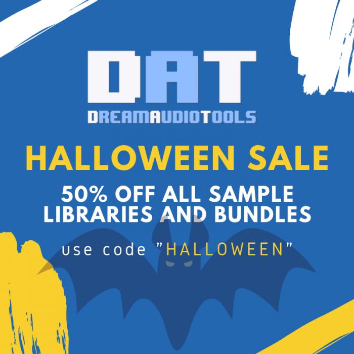 Dream Audio Tools Halloween Sale
