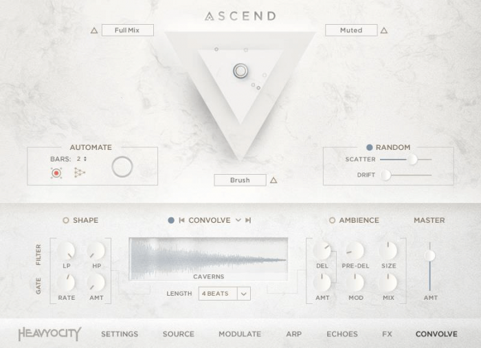 Heavyocity Ascend Modern Grand GUI