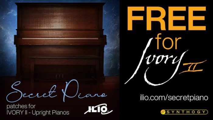 ILIO Secret Piano for Ivory II Upright Pianos