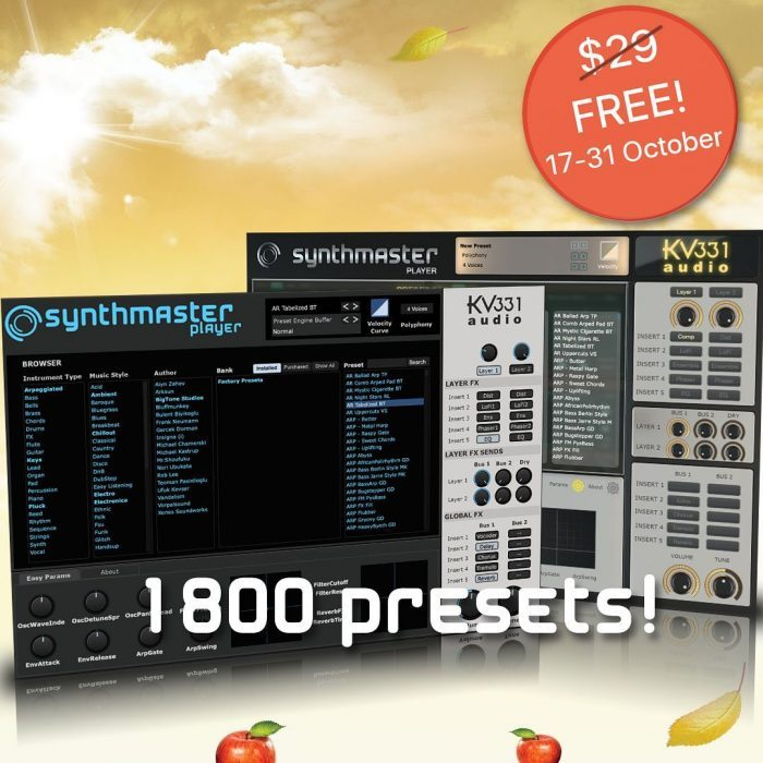 KV331 Audio SynthMaster Player FREE download