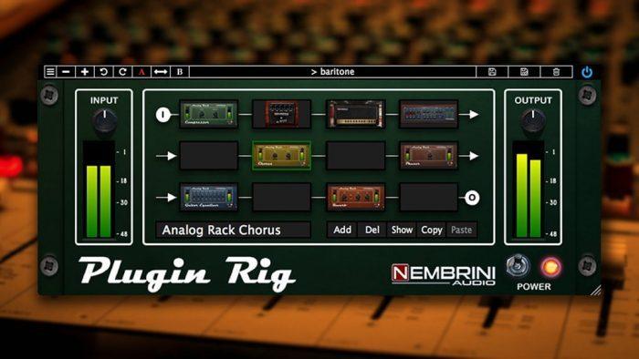 Nembrini Audio Plugin Rig