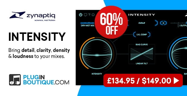PIB Zynaptiq Intensity 60% OFF