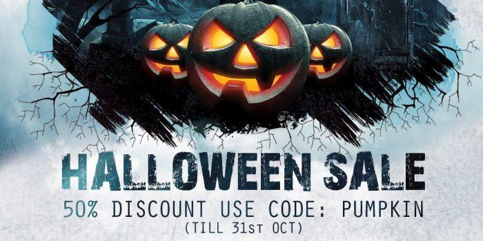 Resonance Sound Halloween Sale 2019