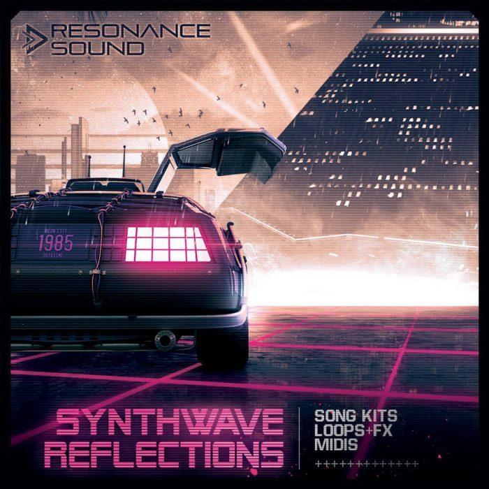 Resonance Sound Synthwave Reflections