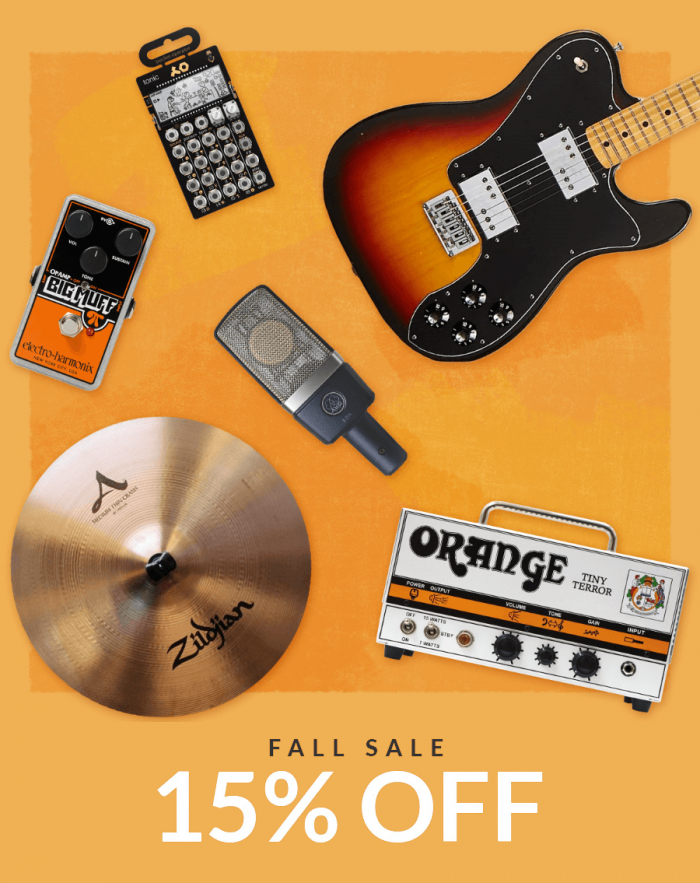Reverb Fall Sale 2019