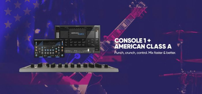 Softube Console 1 and American Class A