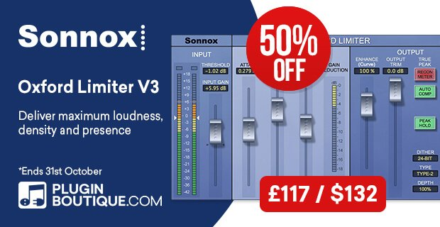 Sonnox Oxford Limiter V3 sale 50 OFF