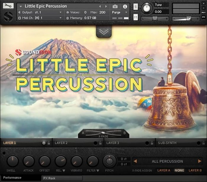 Soundiron Little Epic Percussion