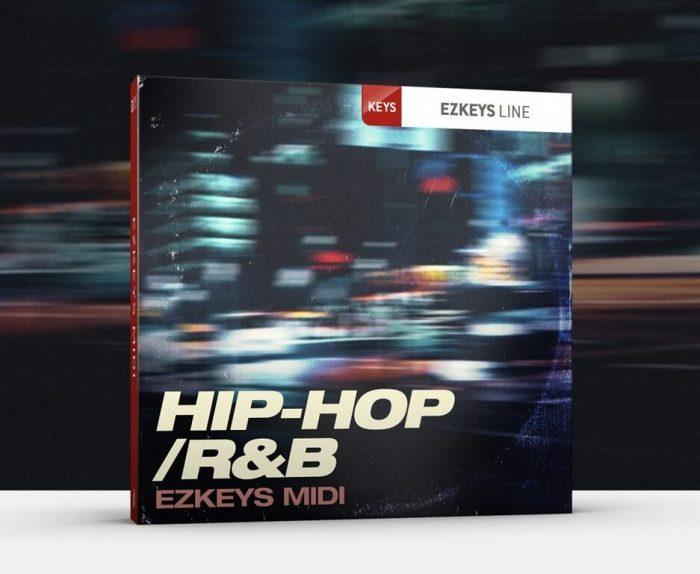 Toontrack Hip Hop R&B EZkeys MIDI