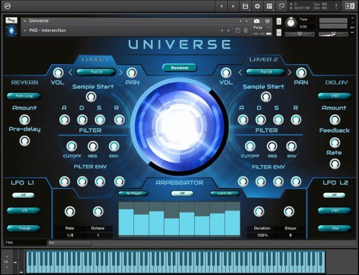 Triple Spiral Audio Universe