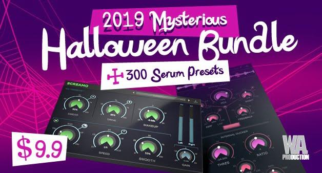 WA Production 2019 Mysterious Halloween Bundle