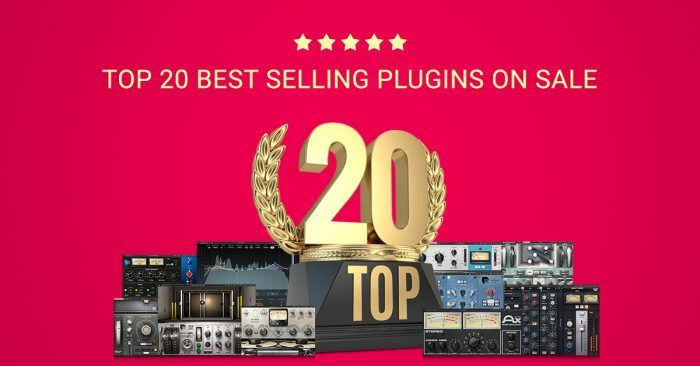 Waves Audio Top 20 Best Selling Plugins Sale