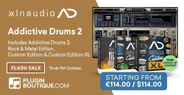 XLNAudio Addictive Drums Sale