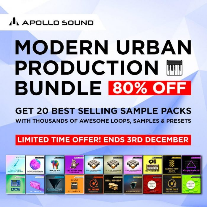 Apollo Sound Modern Urban Production Bundle