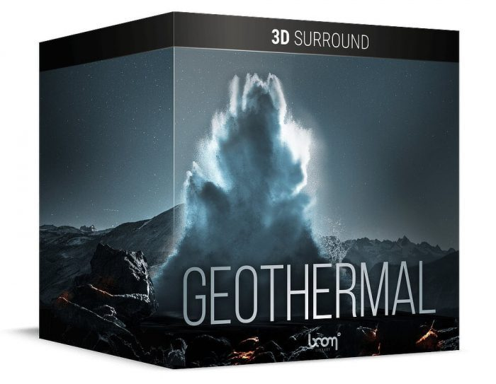 BOOM Library Geothermal 3D Surround