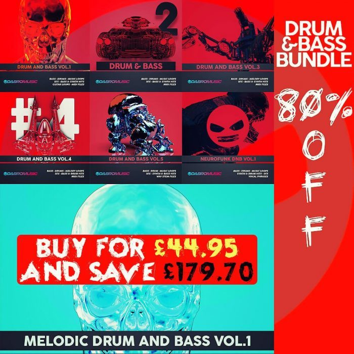 Dabro Music Drum and Bass Bundle