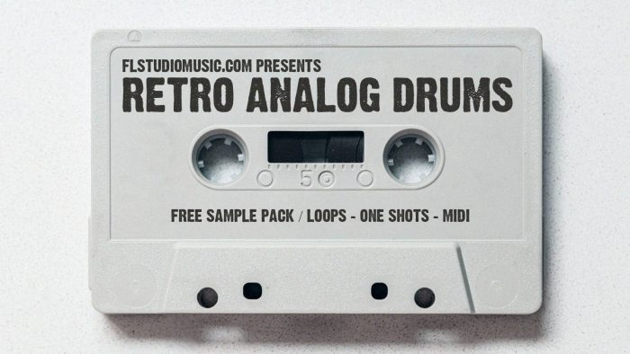 FLStudioMusic Retro Analog Drums