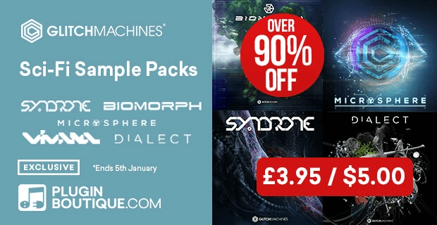 Glitchmachines sample packs 90 off