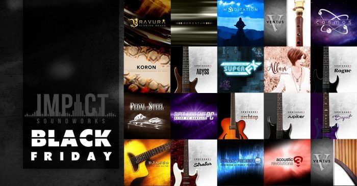 Impact Soundworks Black Friday 2019