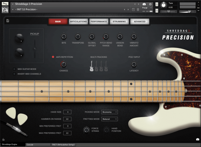 Impact Soundworks Shreddage 3 Precision GUI
