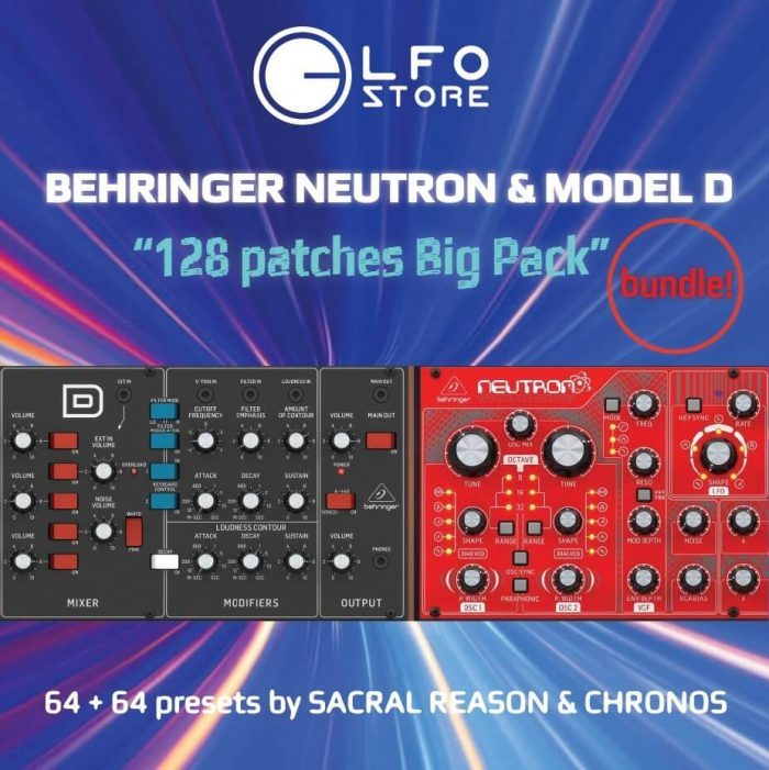 LFO Store Behringer Neutron & Model D