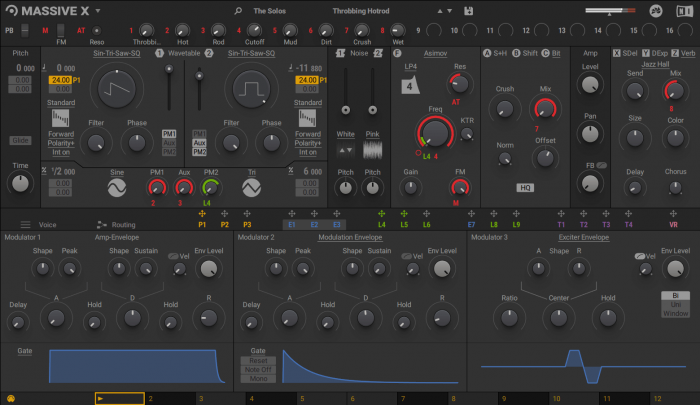 Native Instruments Massive X 1.1.0 (dark skin)