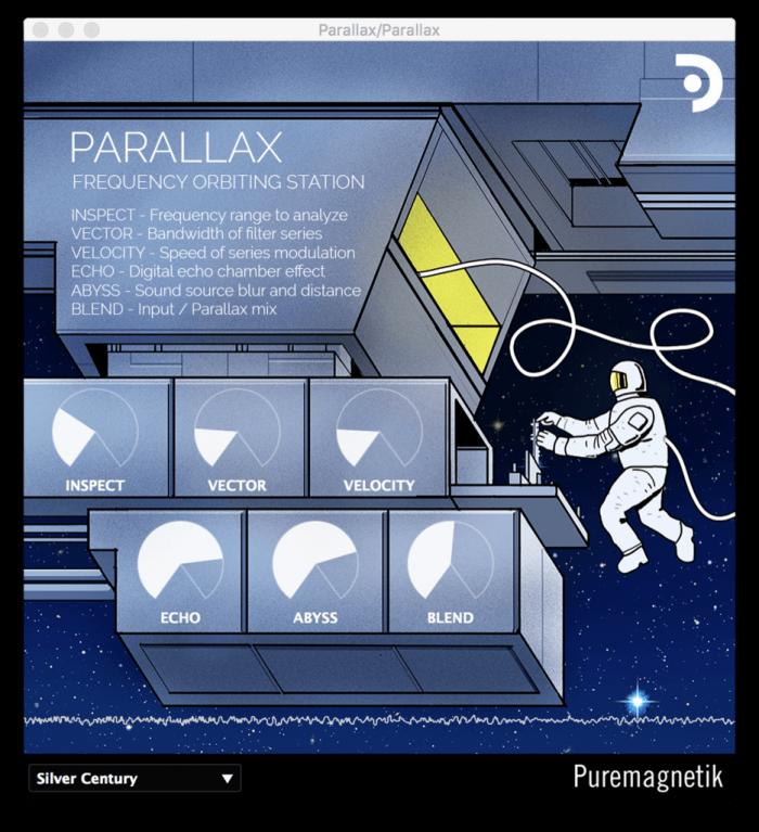 Puremagnetik Parallax GUI