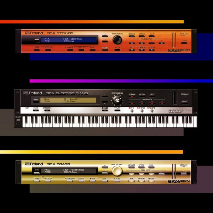Roland Cloud SRX Strings Electric Piano and Brass