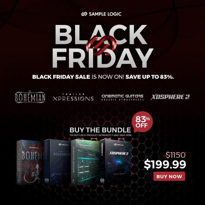 Sample Logic Black Friday Bundle Deal