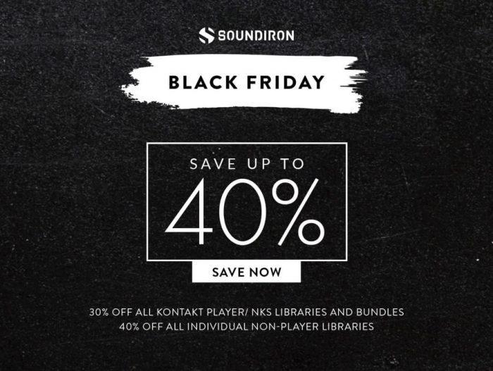 Soundiron Black Friday 2019