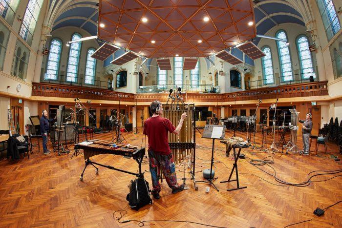 Spitfire Audio Swarm Percussion recording