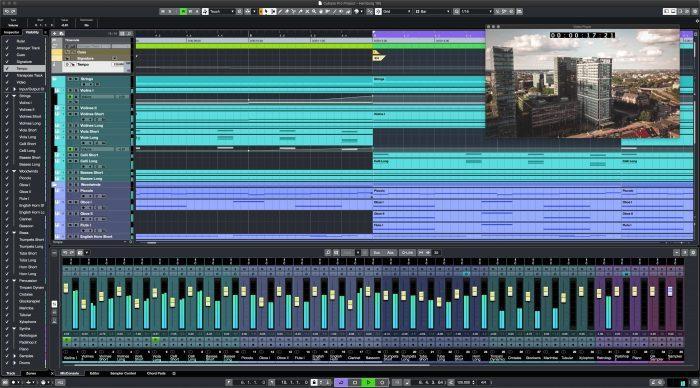 Steinberg Cubase 10.5 Screenshot Full