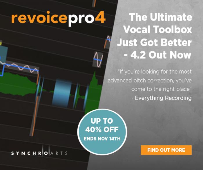 Synchro Arts Revoice Pro 4.2 sale