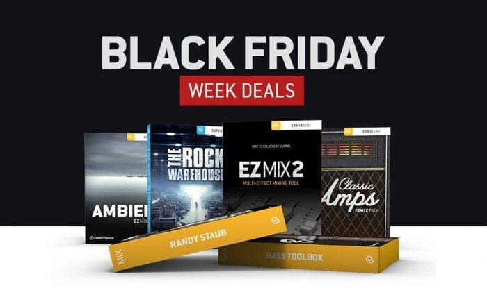 Toontrack Black Friday Week Deals